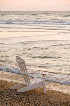 heavenBeach Chairs, Adirondack Chairs, Beach House, Favorite Places, The Ocean, At The Beach, Sea, Beach Time, Beach Life