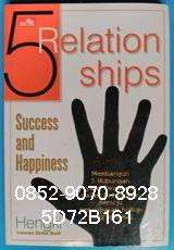 0852-9070-8928, Toko Buku Online, Jual Buku Bekas, 5D72B161 BUKU 5 RELATIONSHIPS SUCCESS AND HAPPINESS, by Hengki Irawan S B Membangun 5 Hubungan yang Seimbang dalam Kehidupan Menuju Pencapaian Yang Optimal Analogi jari tangan menggambarkan hubungan yang harus terjalin dalam kehidupan ini menuju manusia yang sukses dan kebahagiaan yang sejati. Semuanya tidak hanya berurusan dengan materi melulu. Kelima hubungan ini harus ada dan tidak bisa dipisahkan, namun sulit untuk diberi nomor urutan…
