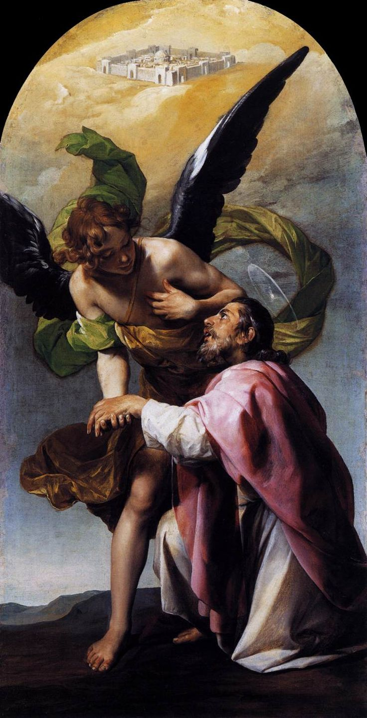 St. Raphael The Archangel and Tobias.