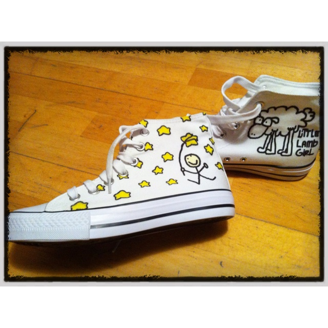 Star Hunter shoes! By Little Lamb Girl