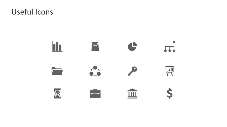PPT Icons Flat Design
