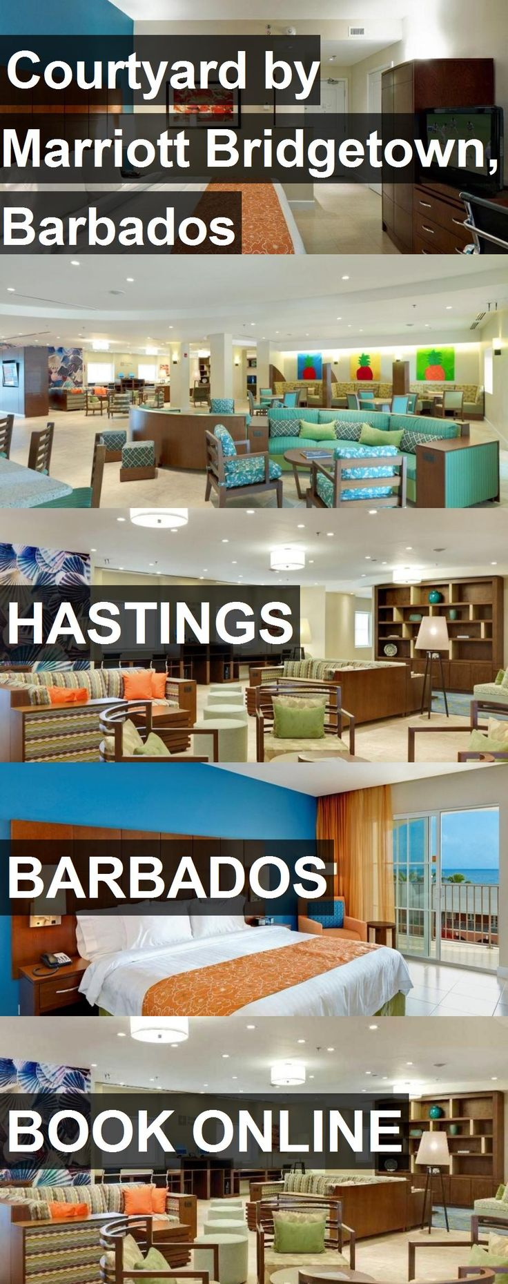 Hotel Courtyard by Marriott Bridgetown, Barbados in Hastings, Barbados. For more information, photos, reviews and best prices please follow the link. #Barbados #Hastings #travel #vacation #hotel