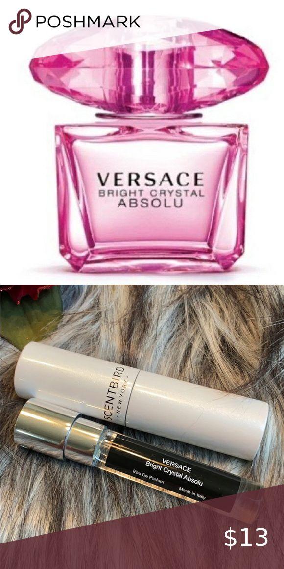 Versace Bright Crystal Absolu 27 Oz Travel Spray Versace Bright Crystal Travel Spray Crystals