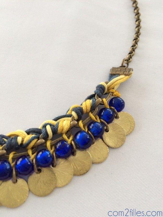 DIY : des colliers plastron réalisés en atelier