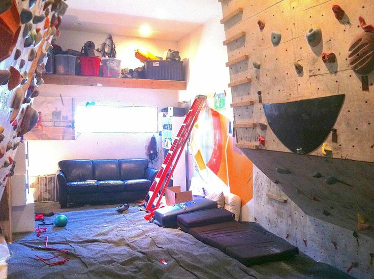 82 best Home Rock Climbing Walls images on Pinterest Bouldering
