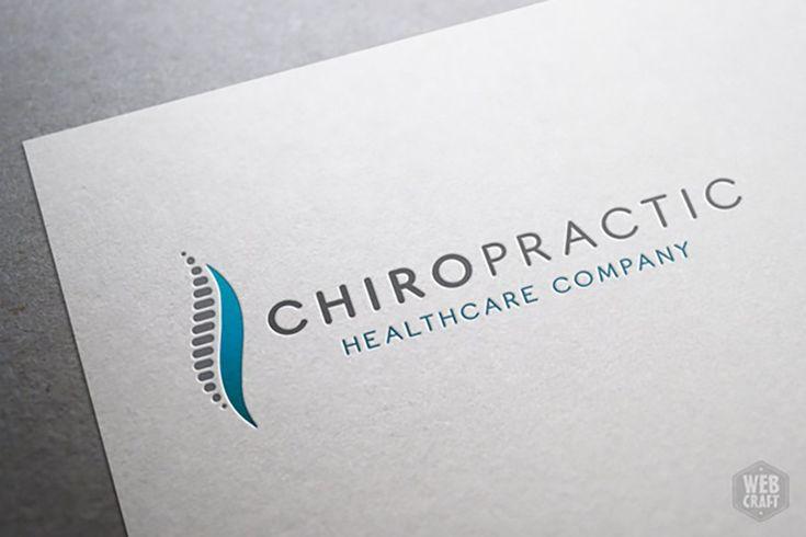 Chiropractic logo stationery designvorlagen originelle