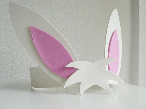 orelhinha de coelho: Goma Eva, Costumes, Coelho Ems, Ems Eva, De Coelho, Coelhinho Ems, De Coelhinho, Bricolage Pâques, Comofaz