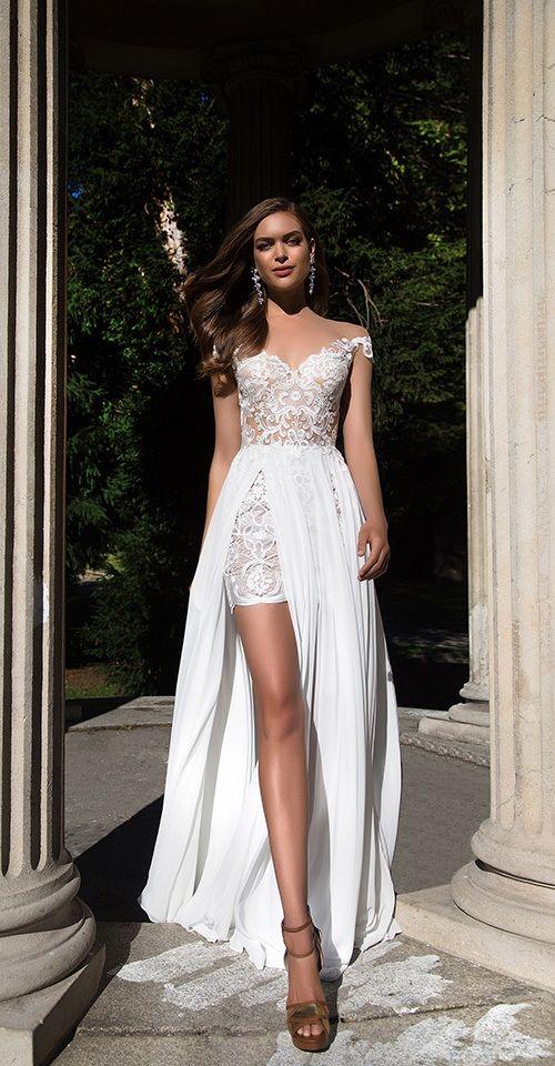 Weißer Kurzer Schulterausschnitt Rock Top Tüll Detailliert | Einfache Frauen …   – Abiye Elbise Modelleri – Abiyeler