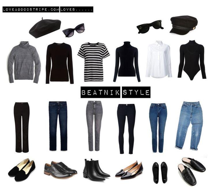 Beatnik style will always influence our wardrobe