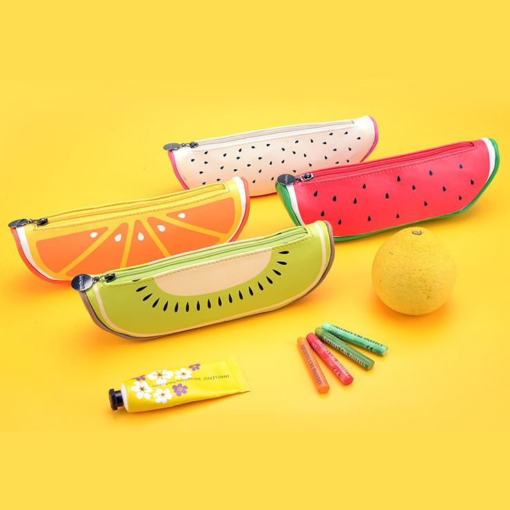 Fruit style cute school pencill case for girls Novelty Leather pencil bag kawaii Stationery Zakka office school supplies Escolar-in Pencil Cases from Office & School Supplies on Aliexpress.com | Alibaba Group