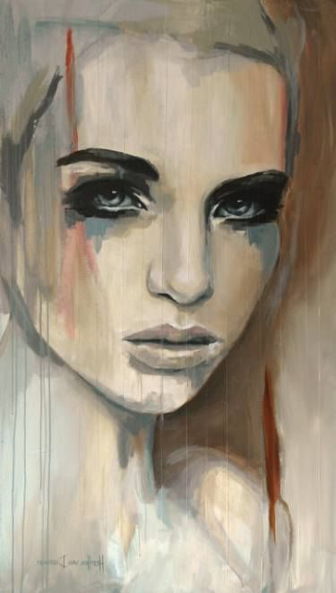 "Saatchi Art Artist Hesther Van Doornum; Painting, ""Gentle - SOLD on Saatchi Online"" #art"