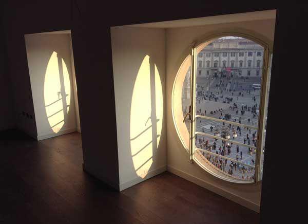 Town House Duomo - Vista dalla reception al 4° piano