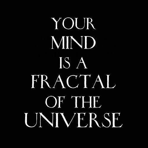 Your mind is a fractal of the universe... holographic universe