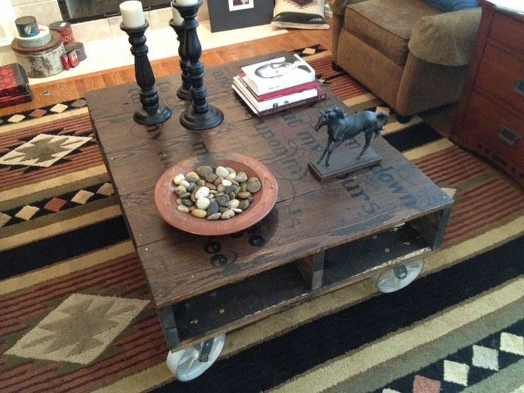 105 best Upcycle pallets crates coffee table images on