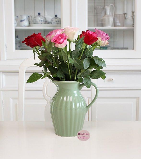 Ib Laursen - mynte - mynteporcelæn - meadow green - roser - roses - rose - myhome - mithjem - havets sus - havetssus