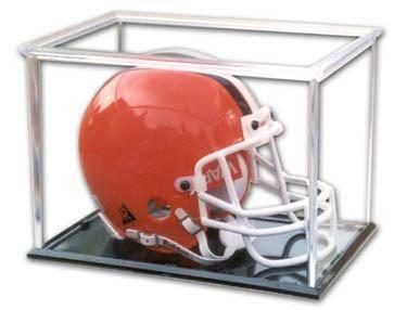 Mini Helmet Plastic Display Case