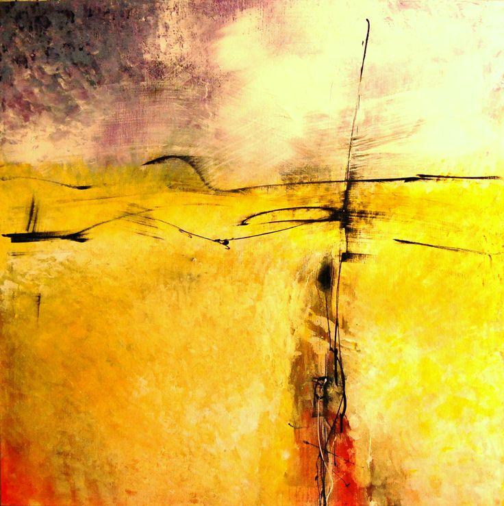 Acryl on Canvas 140x140 cm by Gerard Galema