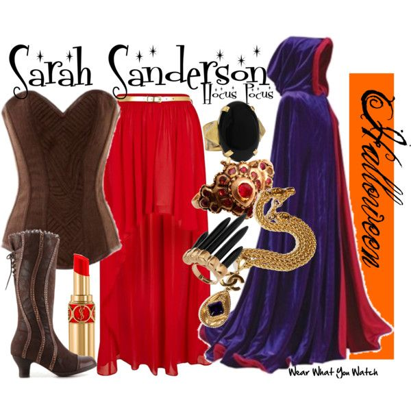 Inspired by Sarah Jessica Parker as Sarah Sanderson in the 1993 Disney released Halloween comedy Hocus Pocus.