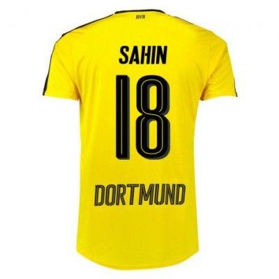 BVB Borussia Dortmund 16-17 Nuri Sahin 18 Hjemmebanetrøje Kortærmet.  http://www.fodboldsports.com/bvb-borusland-dortmund-16-17-nuri-sahin-18-hjemmebanetroje-kortermet.  #fodboldtrøjer