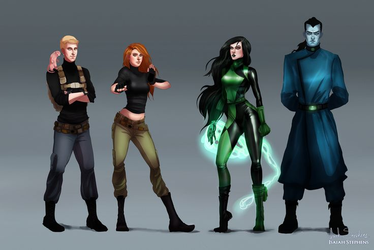 Popular Young Cartoon Characters Reimagined as Adults - Kim Possible