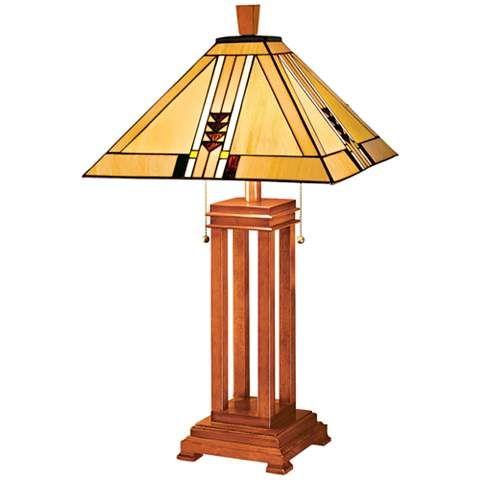 Mission Prairie Table Lamp - #20383 | www.lampsplus.com