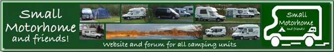 Small Motorhome Camping Forum - for Romahome and Small Motorhome chat but all campers welcome!