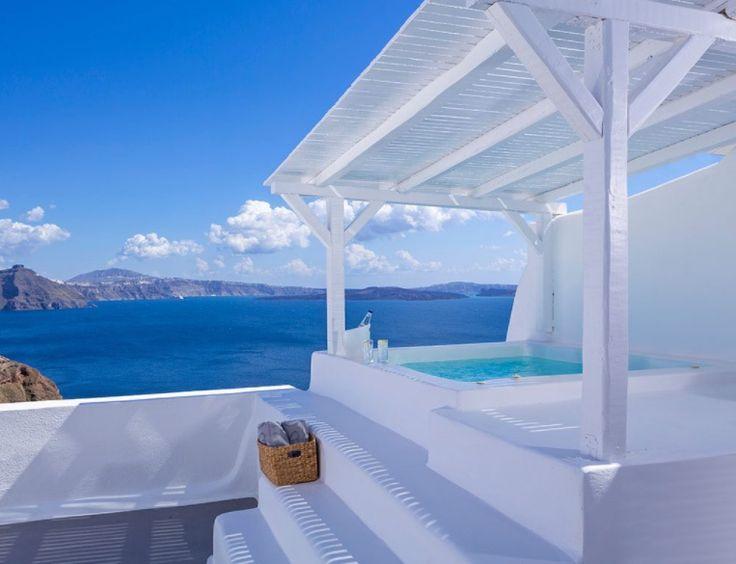 Canaves Oia Hotel, Santorini, Greece - TownandCountrymag.com