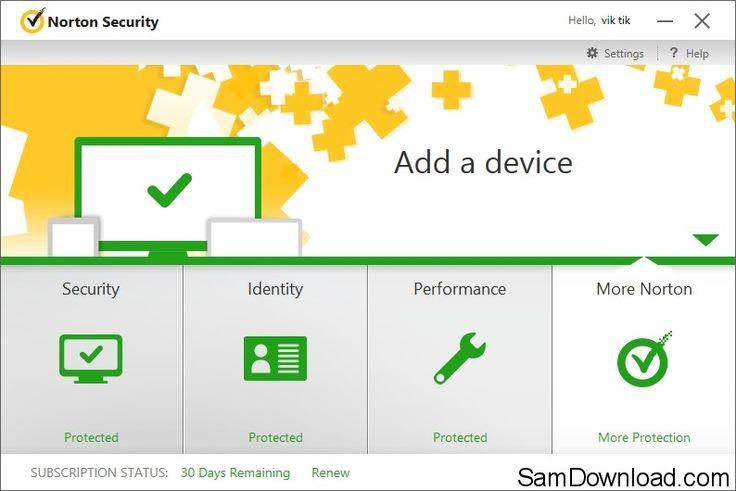 Norton Antivirus 2015 Free Download Crack