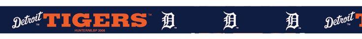 MLB Hunter Detroit Tigers Key Ring Loop Handle