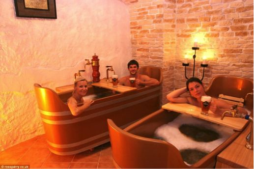 The Beer Spa  https://www.hotelschool.co.za/2014/12/3-silly-travel-trends-ll-love