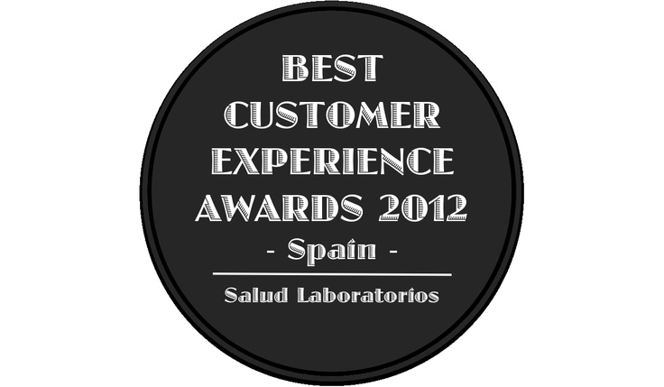 Best Customer Experience Awards, Spain 2012, Categoria Salud, Laboratorios