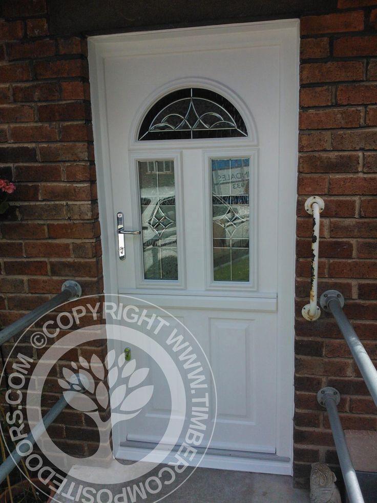 Solidor Conway Composite Doors, look amazing even in White!  #solidor #timbercompositedoors #compositedoors