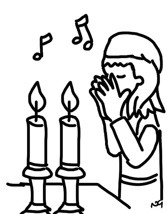 challah coloring pages - photo#22