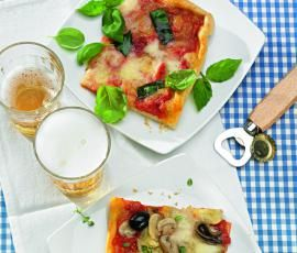 Recept Pizza Margherita od Vorwerk vývoj receptů - Recept z kategorie Hlavní jídla - vegetariánská