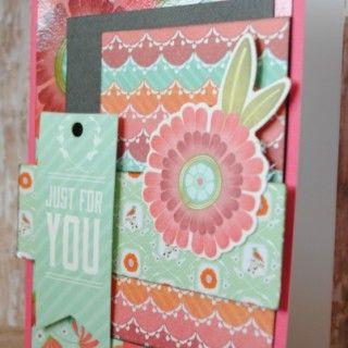 Card Making: Kaisercraft Spring Bloom Card