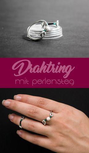 Wunderbar Draht Gewickelt Ring Tutorial Bilder - Elektrische ...