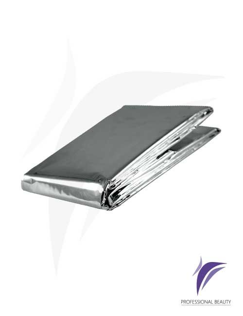 Sabana Térmica Plateada: Sabana térmica en aluminio que ayuda a mantener hasta en un 90% la temperatura corporal.