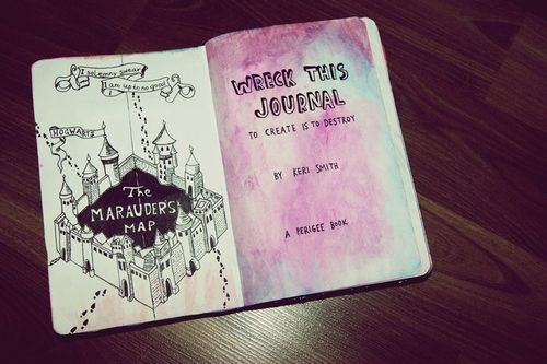 wreck this journal harry potter - Google Search