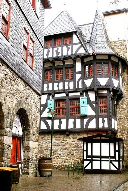 Schloss Burg, near Solingen Germany. Just one of the many castles, abbeys, cathedrals and churches that lay within the Duchies Of Cleve-Julich-Berg which were under the control of Duke John III, the father of Anne of Cleves.