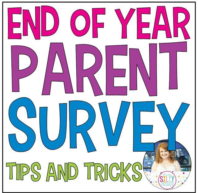 Great tips on creating a great End of Year Parent Survey - whether you create a paper/pencil version or want to do yours online! #EOY