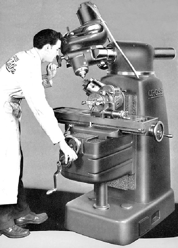 Vintage Machinist Milling machine | Thread: In search of: Milling Machine built by Cross Gear & Engine