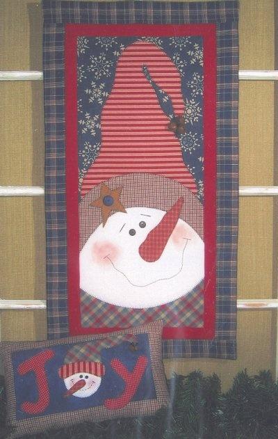 snowman #quilt #wall hanging #joy
