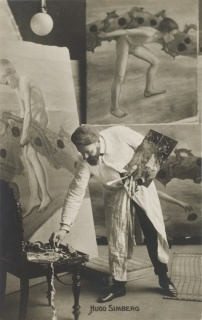 Hugo Simberg painting fresco