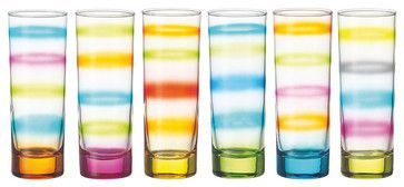 Tie-Dye Glasses eclectic cups and glassware