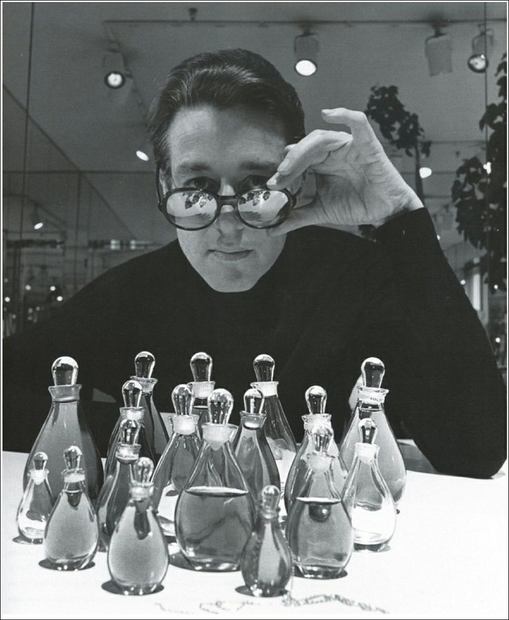 Halston by Halston, perfume for women, was launched in 1975, and was sold in a bottle designed by Elsa Peretti. It was the second biggest selling perfume of all time.