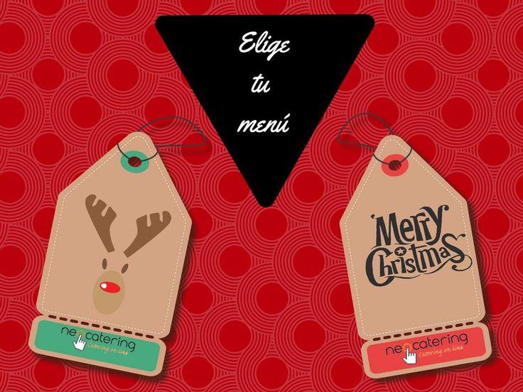 Esta Nochebuena no cocines, nosotros lo hacemos por ti! Solo tienes que decidir si te lo llevamos a casa o vienes a recogerlo.  Elige tu menú desde 20€ 🎅➡ http://www.neocatering.com #tunavidadconneocatering