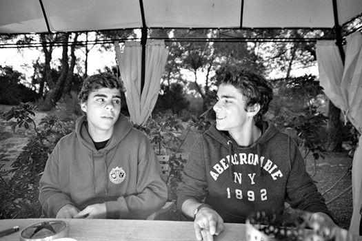 Сыновья певицы от первого брака: Никита и Себастьян