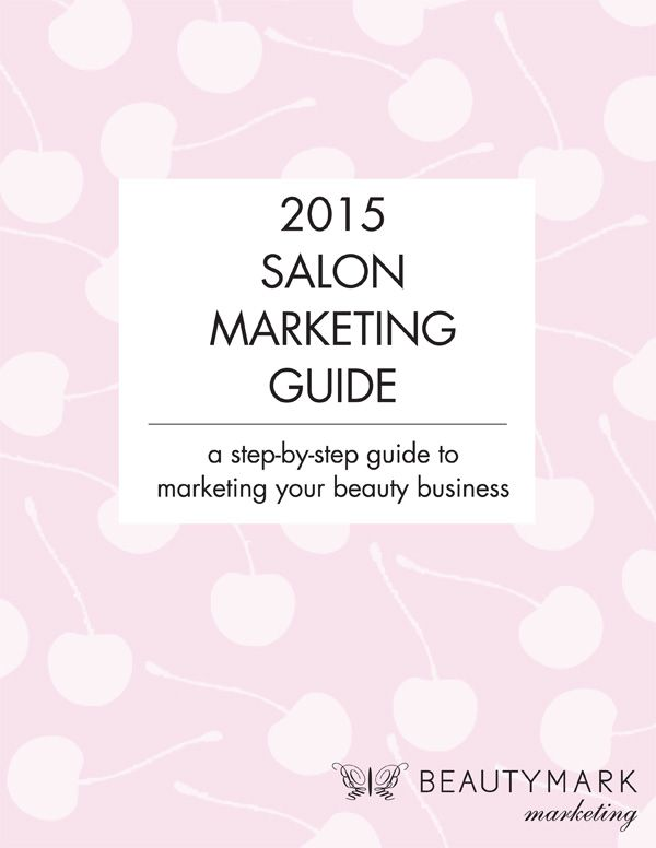 Click here to get your FREE Editable Salon Marketing Calendar - a step by step guide to marketing your beauty business
