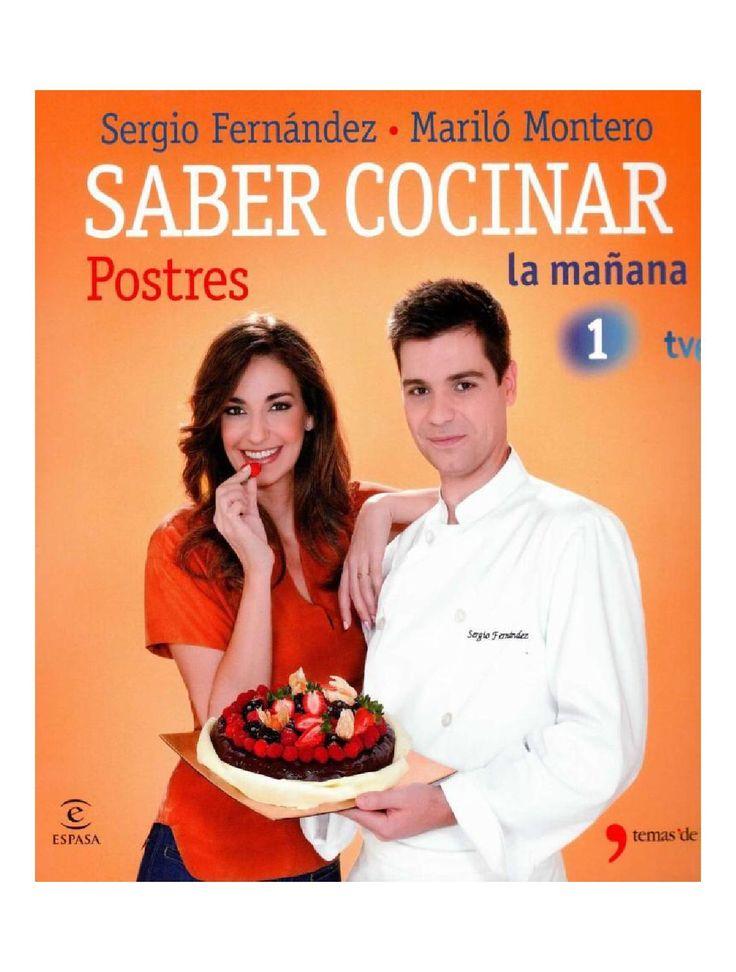 Saber cocinar postres Fernandez Sergio y Montero Marilo