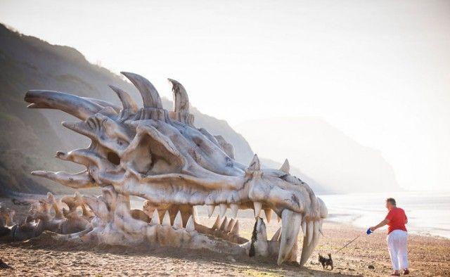 Massive Dragon Skull - HBO - Gme of Thrones